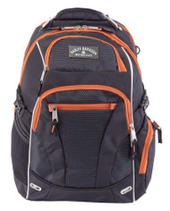 Harley-Davidson® Renegade Steel Cable Lightweight Backpack Black 99206 RUST/BLACK - Wisconsin Harley-Davidson