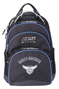"Harley-Davidson® 115th Anniversary Collection ""Steel-Cable"" Backpack, Black 99220 - Wisconsin Harley-Davidson"
