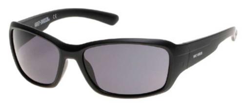 Harley-Davidson® Men's H-D Block Sunglasses, Matte Black Frame & Smoke Gray Lens - Wisconsin Harley-Davidson