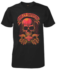 Harley-Davidson® Men's Gate Keeper Skull Short Sleeve Crew Neck T-Shirt, Black - Wisconsin Harley-Davidson