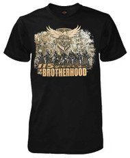 Harley-Davidson® Men's 115th Anniversary Brotherhood Short Sleeve T-Shirt, Black - Wisconsin Harley-Davidson