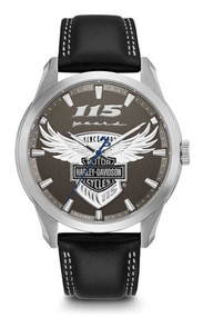 Harley-Davidson® Men's 115th Anniversary Limited Edition Watch 76A160 - Wisconsin Harley-Davidson