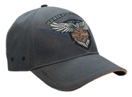 Harley-Davidson® Men's Embroidered 115th Anniversary Eagle Baseball Cap BCC25854 - Wisconsin Harley-Davidson