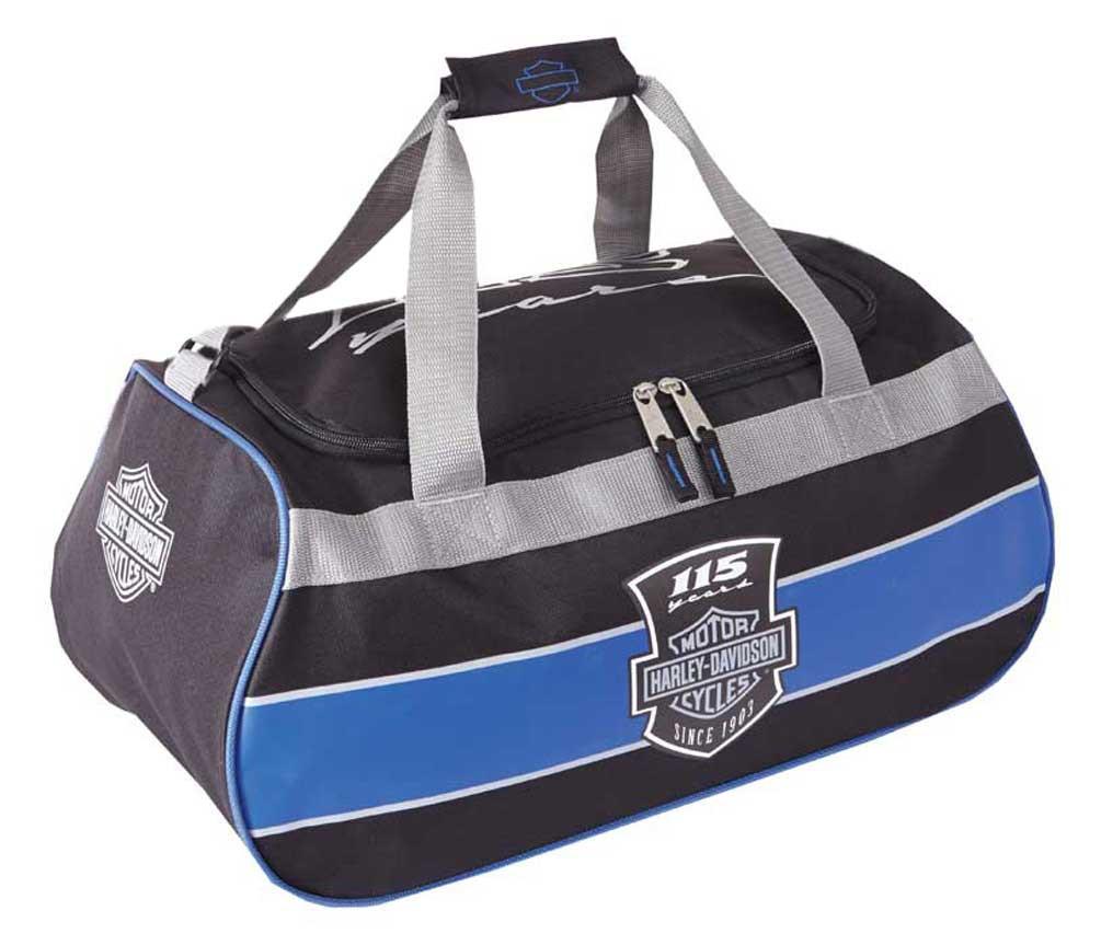 Harley Davidson Leather Travel Bag