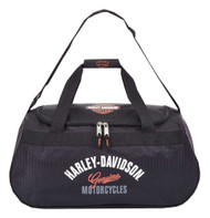 Harley-Davidson® Tail Of The Dragon Collection Sports Duffel Bag w/ Strap 99418 - Wisconsin Harley-Davidson