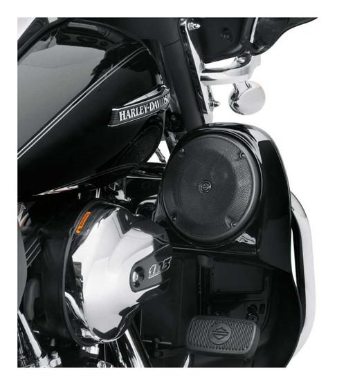 Harley-Davidson® Boom! Audio Stage I Fairing Lower Speaker Kit, Black 76000487 - Wisconsin Harley-Davidson
