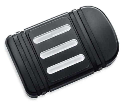 Harley-Davidson® Edge Cut Brake Pedal Pad - Large, Fits Softail Models 50600318 - Wisconsin Harley-Davidson