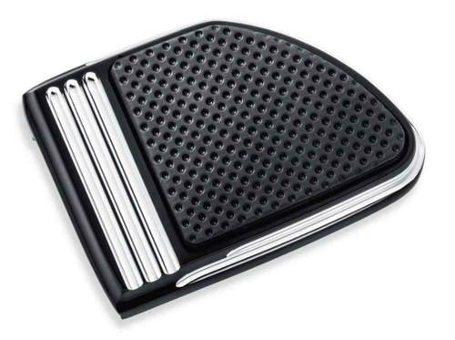 Harley-Davidson® Defiance Brake Pedal Pad Machine Cut - Large, Black 50600258 - Wisconsin Harley-Davidson