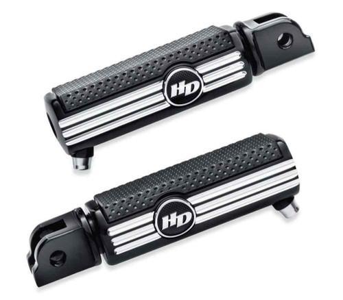 Harley-Davidson® Defiance Rider Machine Cut Footpegs, Removable Wear Peg 50500807 - Wisconsin Harley-Davidson