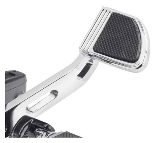 Harley-Davidson® Defiance Brake Pedal Pad - Small, Softail Models 50600248 - Wisconsin Harley-Davidson