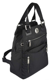 Harley-Davidson® Women's World Tour Collection Backpack / Handbag WT8314S-BLACK - Wisconsin Harley-Davidson