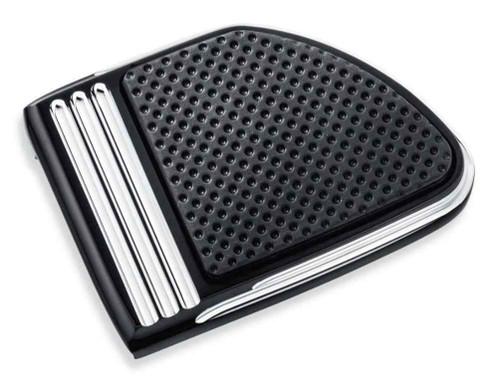 Harley-Davidson® Defiance Brake Pedal Pad Machine Cut - Small, Black 50600255 - Wisconsin Harley-Davidson