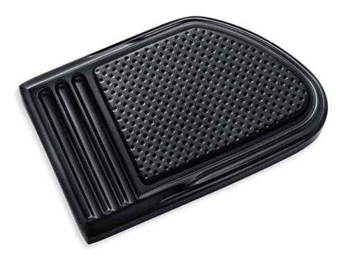 Harley-Davidson® Defiance Brake Pedal Pad - Large, Black Anodized 50600259 - Wisconsin Harley-Davidson
