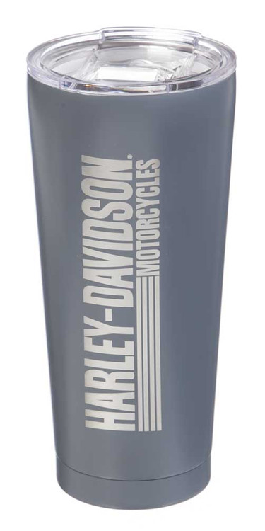 Harley-Davidson® Double Wall Stainless Steel Etched Tall Tumbler, 28 oz. 3SSB4912 - Wisconsin Harley-Davidson