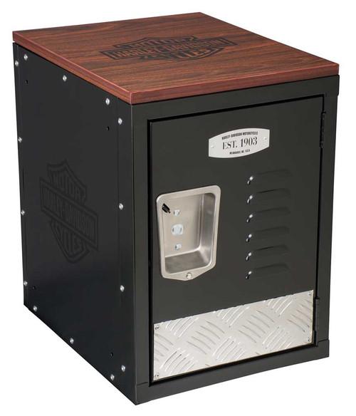 Harley-Davidson® Bar & Shield Metal Storage Unit, Durable Laminate Top HDL-19706 - Wisconsin Harley-Davidson