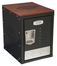 Harley-Davidson® Bar & Shield Metal Storage Unit, Durable Laminate Top HDL-19706 - Wisconsin Harley-Davidson