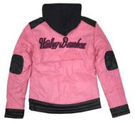 Harley-Davidson® Little Girls Bar & Shield Polyfil Full Lined Zip Jacket 6033575 - Wisconsin Harley-Davidson