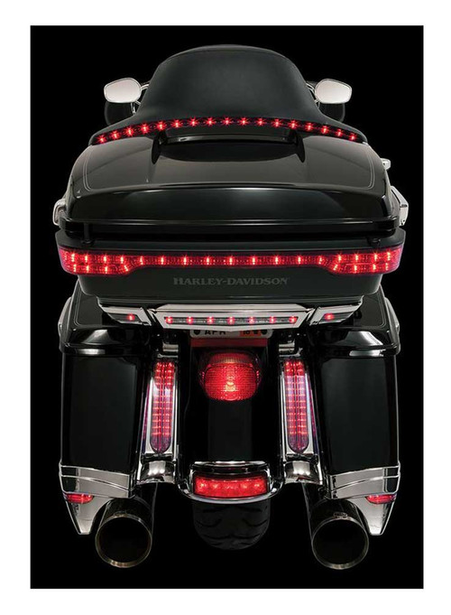 Ciro Tour Blade Low Profile LED Lights Strip '14-up Harley w/ Controller 40200 - Wisconsin Harley-Davidson