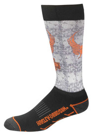 Harley-Davidson® Men's Cushioned Performance Wool Riding Socks D99098370-002 - Wisconsin Harley-Davidson