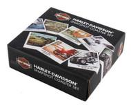 Harley-Davidson® Snapshot Wooden Cork Back Coaster Set, 8 Pack HDL-18577 - Wisconsin Harley-Davidson