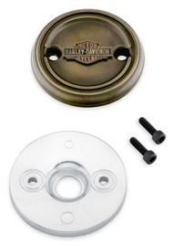 Harley-Davidson® Brass Finish Left Side Medallion - Fits XG Models 25800091 - Wisconsin Harley-Davidson