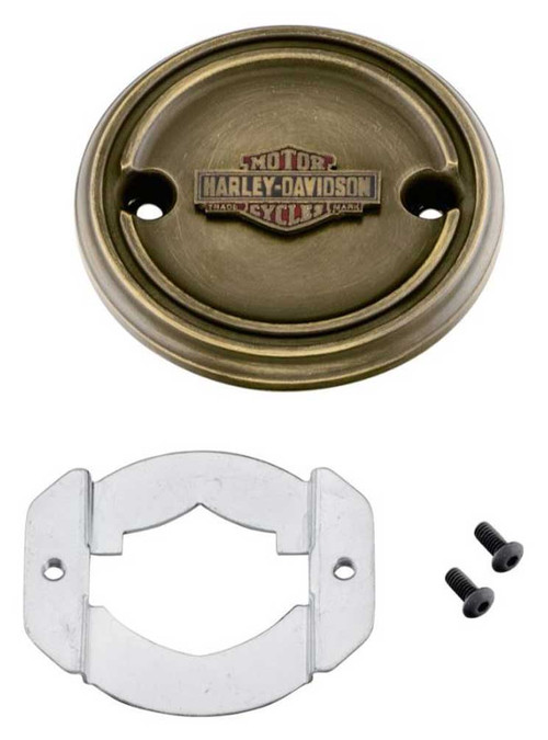 Harley-Davidson® Brass Finish Right Side Medallion - Fits XG Models 25800089 - Wisconsin Harley-Davidson