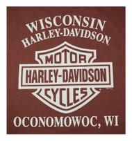 Harley-Davidson® Men's Concrete Frontier Long Sleeve Crew Neck Shirt 5L36-HF23 - Wisconsin Harley-Davidson