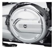 Harley-Davidson® Defiance Derby Cover - Chrome, Touring & Trike Models 25700571 - Wisconsin Harley-Davidson