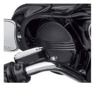 Harley-Davidson® Defiance Batwing Fairing Speaker Grills - Black Finish 76000686 - Wisconsin Harley-Davidson