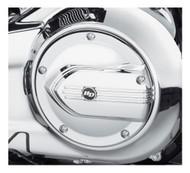 Harley-Davidson® Defiance Derby Cover - Chrome, Dyna & Softail Models 25700703 - Wisconsin Harley-Davidson