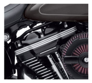 Harley-Davidson® Defiance Upper Rocker Covers, Fits Softail & Touring 25700604 - Wisconsin Harley-Davidson