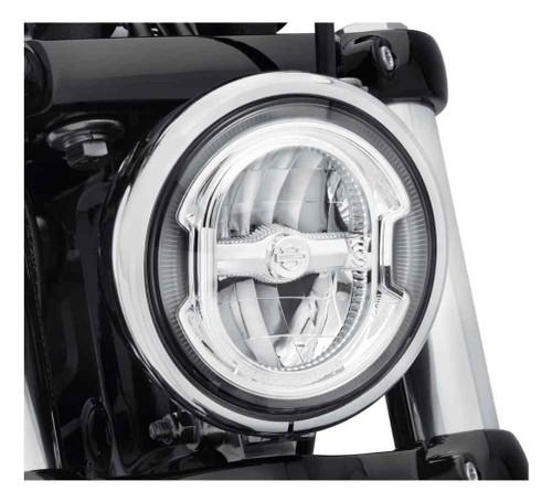 Harley-Davidson® 5.75in Daymaker Signature Reflector LED Headlamp-Chrome 67700355 - Wisconsin Harley-Davidson