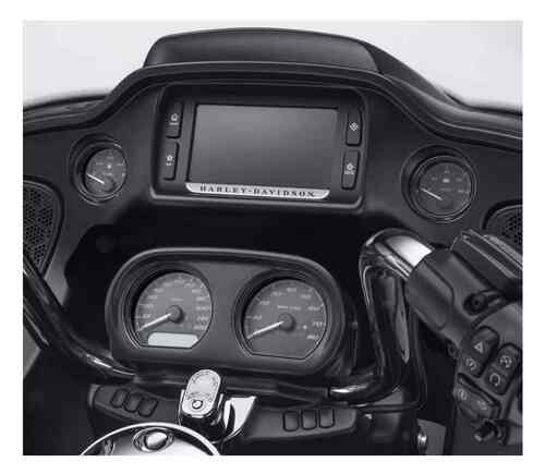 Harley-Davidson® 4-Piece Defiance Gauge Bezels Fairing Kit- Black Finish 61400360 - Wisconsin Harley-Davidson