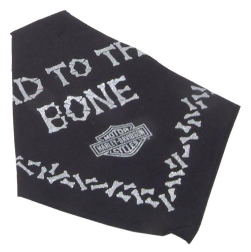 Harley-Davidson® Bad To The Bone Pet Tie Bandana - SM 20in, Black H2300HBK520 - Wisconsin Harley-Davidson