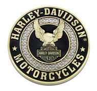 Harley-Davidson® Up-Winged Eagle B&S Heavy-Duty Metal Magnet, 3 in. 8008567 - Wisconsin Harley-Davidson