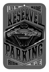 Harley-Davidson® Screamin' Eagle Tonal Parking Sign, 17 x 11 in HARLNV0113 - Wisconsin Harley-Davidson