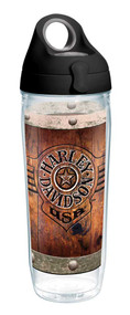 Harley-Davidson® Burnt Wood Rivets Water Bottle w/ Black Lid, 24 oz. 1287286 - Wisconsin Harley-Davidson