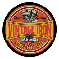 Harley-Davidson® Vintage Iron Bar & Shield Embossed Tin Sign, 14 inch 2011491 - Wisconsin Harley-Davidson