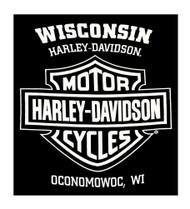 Harley-Davidson® Men's Epic Eagle & Shield Pullover Hooded Sweatshirt, Black - Wisconsin Harley-Davidson