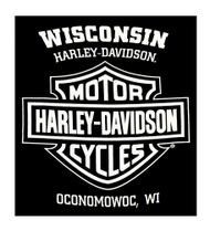 Harley-Davidson® Men's Classic White Bar & Shield Logo Sleeveless Tank, Black - Wisconsin Harley-Davidson