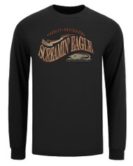 Harley-Davidson® Men's Screamin' Eagle Lucky Eagle Long Sleeve Shirt HARLMT0280 - Wisconsin Harley-Davidson