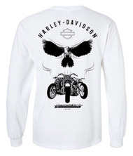 Harley-Davidson® Men's Screamin' Eagle Illusion Long Sleeve Shirt HARLMT0281 - Wisconsin Harley-Davidson