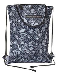 Harley-Davidson® Gray Tattoo Sling Backpack, Sport Cloth 99667-GRAY TATTOO - Wisconsin Harley-Davidson