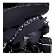 Ciro '06-'13 H-D Touring LED Bat Blades - Black, Easy Installation 45101 - Wisconsin Harley-Davidson