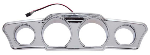 Ciro Multi-Color LED Dash Accents, Fits 14-up Harley Touring Models Chrome 42200 - Wisconsin Harley-Davidson