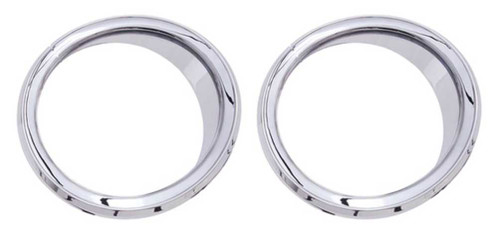 Ciro Speaker Accents Unlit (Pair), Fits 14-up Harley Touring Models Chrome 42105 - Wisconsin Harley-Davidson