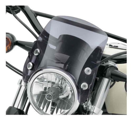 Harley-Davidson® Compact Sport Wind Deflector - Smoke, Fits XL Models 57400184 - Wisconsin Harley-Davidson