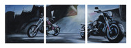 Harley-Davidson® Live It Up! Limited Edition Hand Painted Artwork HDP-RA09 - Wisconsin Harley-Davidson
