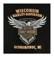 Harley-Davidson® Men's 115th Anniversary V-Twin Satisfaction Short Sleeve T-Shirt - Wisconsin Harley-Davidson