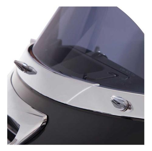 Ciro Windshield Screw Cap Kit Fits Harley Electra, Street Glides Chrome or Black - Wisconsin Harley-Davidson